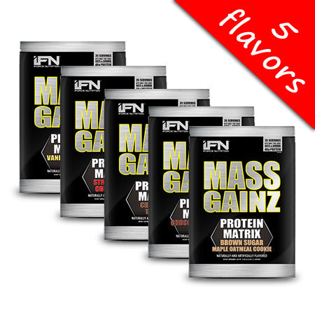 iForce Nutrition - Mass GainZ 10lbs