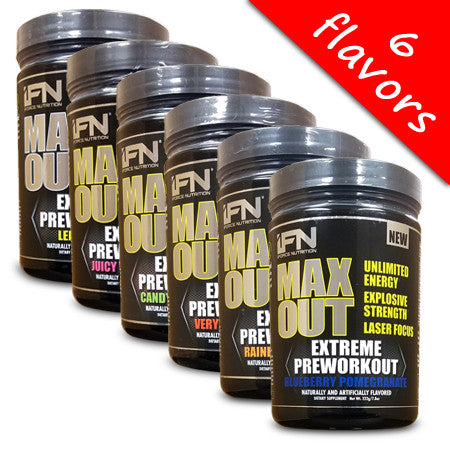 iForce Nutrition - Max Out