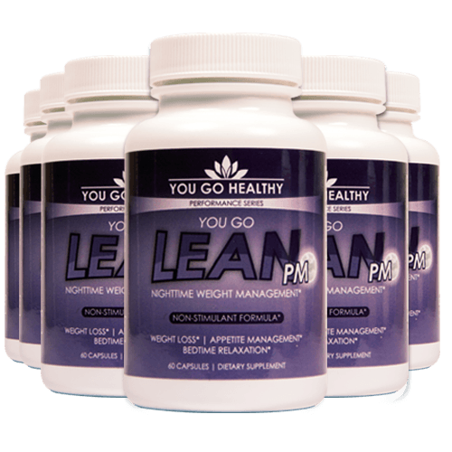 You Go Lean PM 6 Bottle Pack