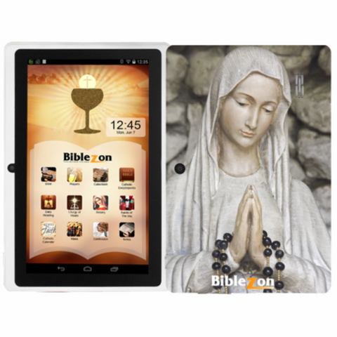 Biblezon Catholic Tablet-Holy Mary (  SHIPS OCTOBER 31 2018 )