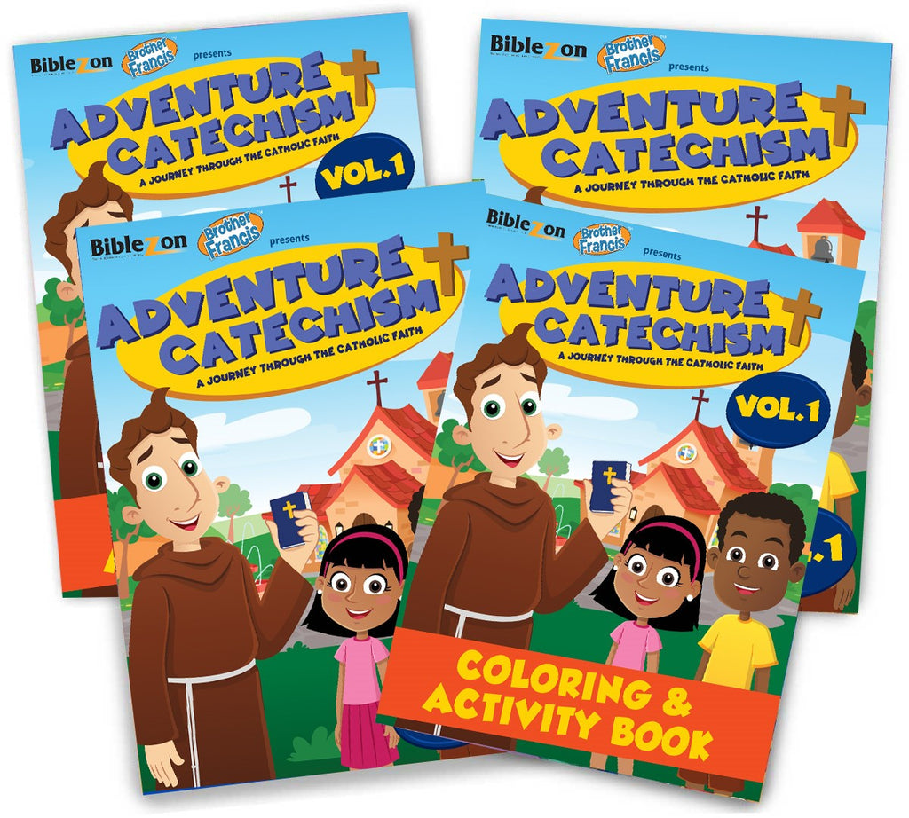 Adventure Catechism Coloring Book (Ships 12/07/2019)