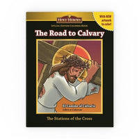 Holy Heroes (bi-lingual) Coloring Book: The Road to Calvary/El Camino al Calvario