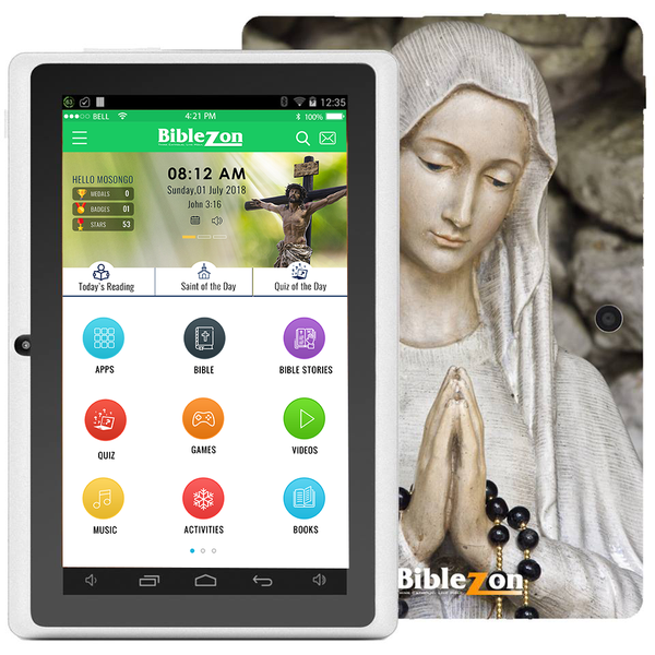 Biblezon Catholic Tablet-Holy Mary (Teens & Adults)