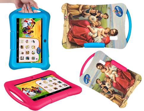 Tablet Cover: Kids Silicon Cover