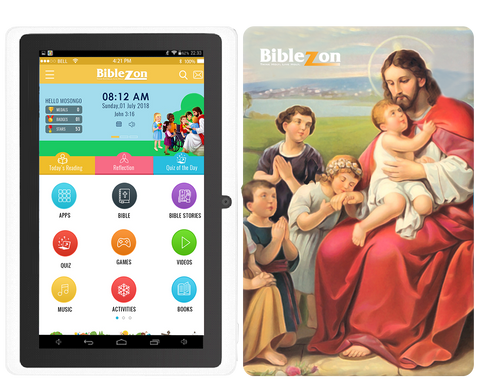 Biblezon Kids Tablet ( Catholic Edition)  Ages 3 - 12.  Starts shipping NOVEMBER 15 2018.