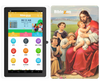 Biblezon Catholic Tablet ( Ages 4 - 12).  Preloaded with over 50 exclusive Catholics apps, videos, games, books and more.