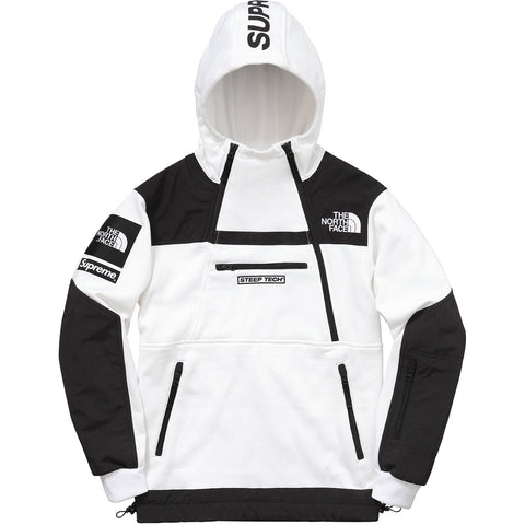 Supreme x The North Face Fleece Tech Hoodie