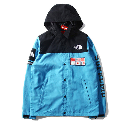TNF Blue International Windbreaker Jacket