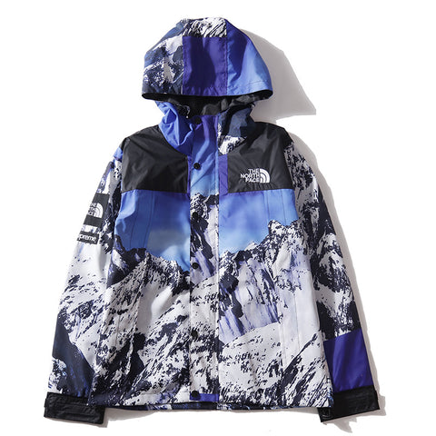 Snow Windbreaker Hooded Jacket