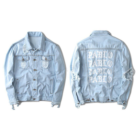 Sky Blue Pablo Denim Jacket