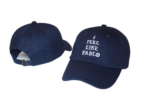 Navy Blue I Feel Like Pablo Hat