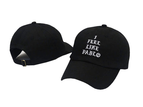 Black I Feel Like Pablo Hat