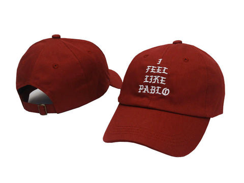 Red I Feel Like Pablo Hat