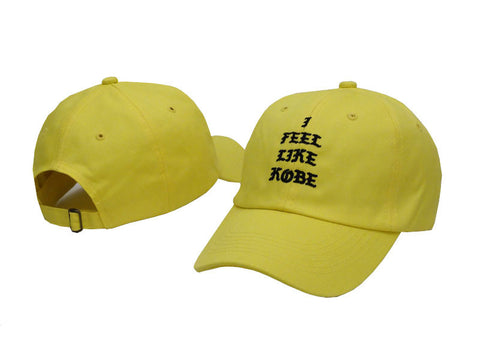 Yellow I Feel Like Kobe Hat