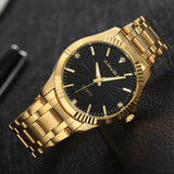 Black and Gold Amuda Watch