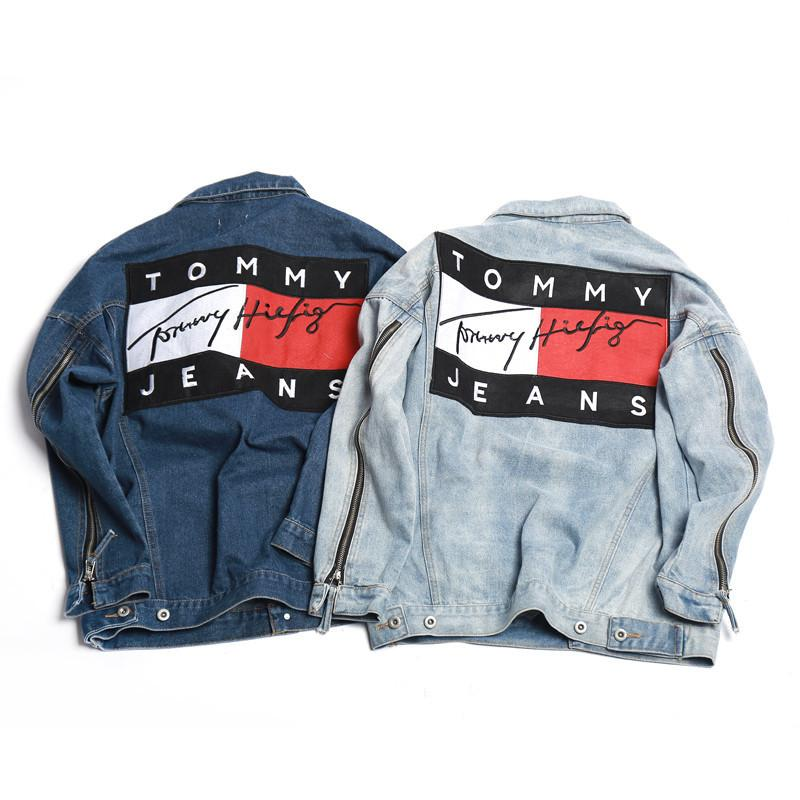 Jackets trill gvng tommy jeans denim jacket gumiabroncs Gallery