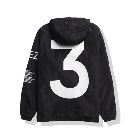 Black Yeezy Windbreaker Jacket