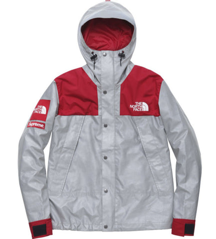 Red North Face x Supreme Jacket
