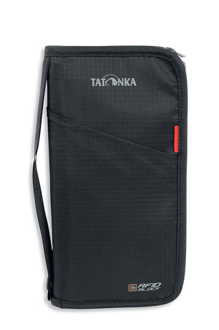TATONKA TRAVEL ZIP L RFID B  BLACK