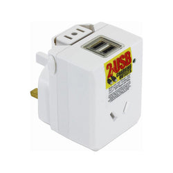 OSA TRAVEL ADAPTOR UNIVERSAL WITH USB