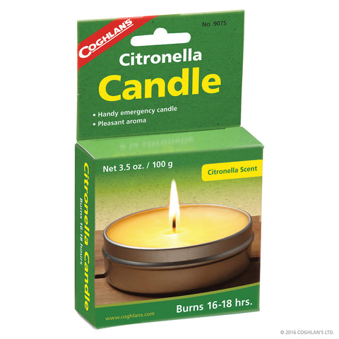 COGHLANS CITRONELLA CANDLES