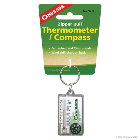 COGHLANS ZIPPER PULL THERM/COMPASS