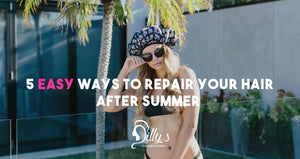 5 Easy Ways To Repair Your Hair After Summer