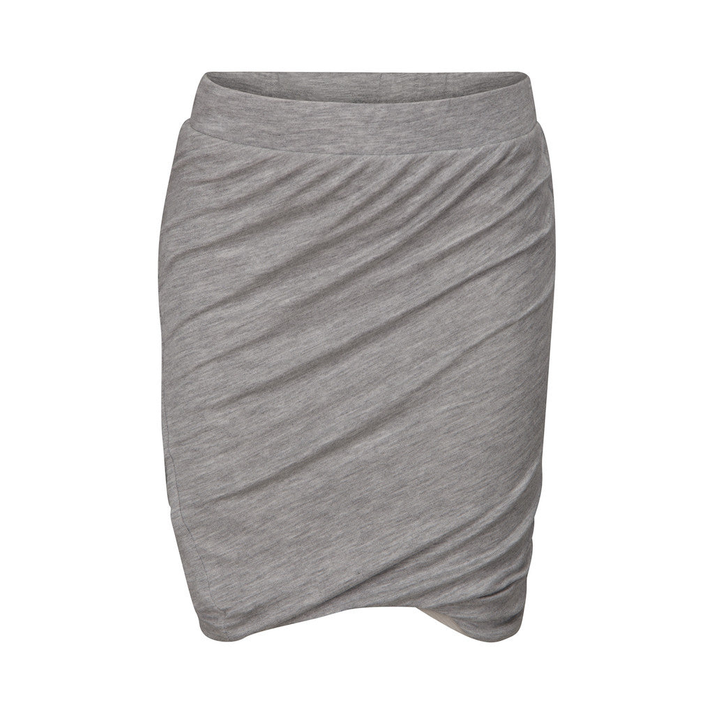 ad43a4a8e95 PETIT BY SOFIE SCHNOOR Skirt - Grey Melange Color