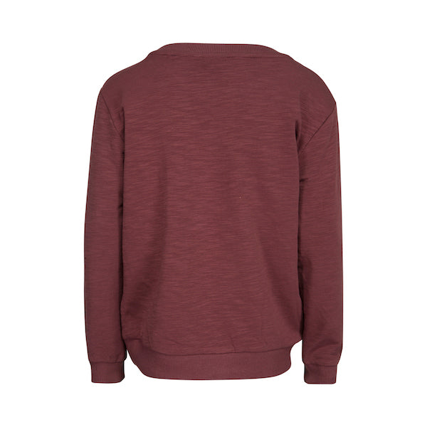 966fe84626d6 PETIT BY SOFIE SCHNOOR Sweater - Rouge Color - Scandes