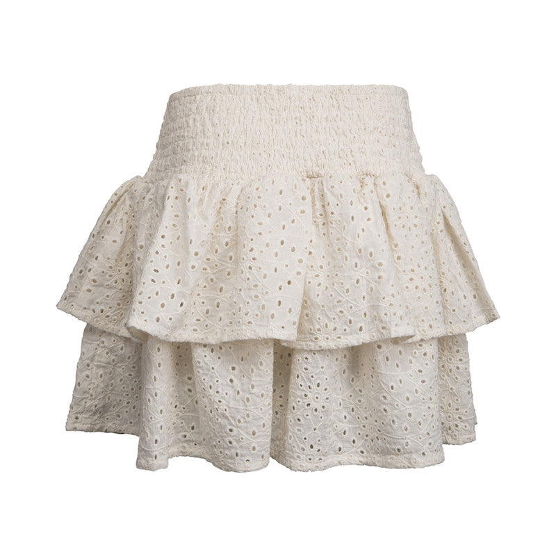 bd5c698e54e PETIT BY SOFIE SCHNOOR Skirt - Off White Color - Scandes