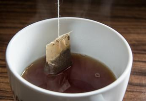 Loose Leaf Tea in Pyramid Teabags