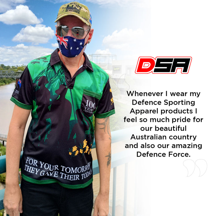 DEFENCE SPORTING APPAREL PROUD CUSTOMER: KONRAD VON DORFEN