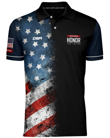Patriot Polo Black