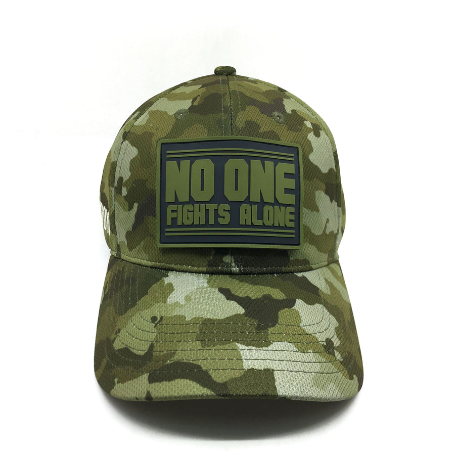 NOFA mens cap, Frontal view
