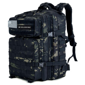 The Hero Backpack (Camo Black)