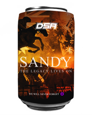 Sandy the War Horse Beer Cooler