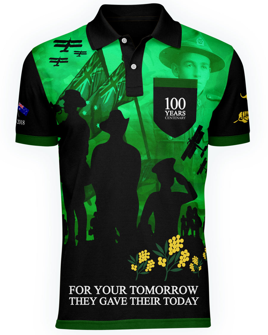 The Centenary Significance Classic Polo Green - Limited