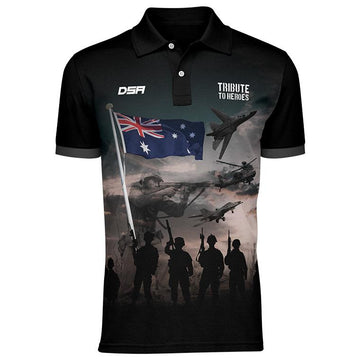 Official Tribute to Heroes Polo Shirt