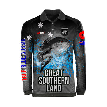 Great Southern Land Fishing Shirt, Front View