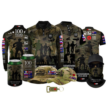 The Spirit Lives On Centenary Camo Bundle - LIMITED