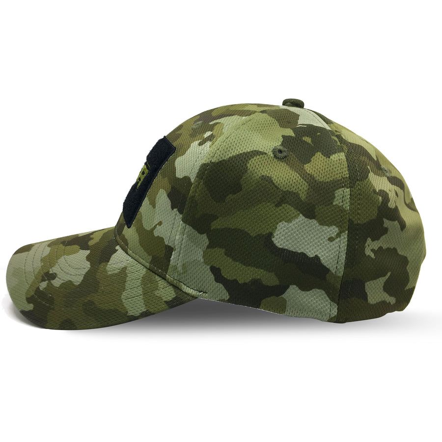 NOFA camo cap, Side view