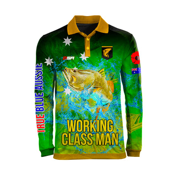 Working Class Man Fishing Shirt