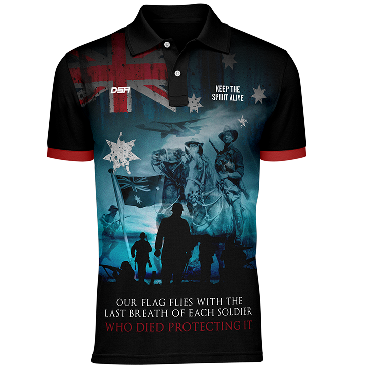Brave Spirit Polo Shirt