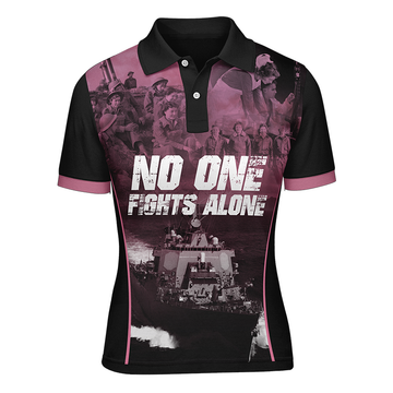 NOFA ladies polo, Front view