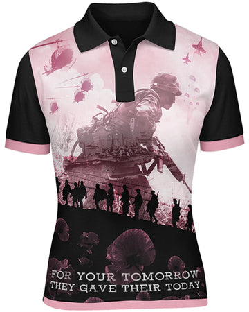 The Salute To Heroes Ladies Polo