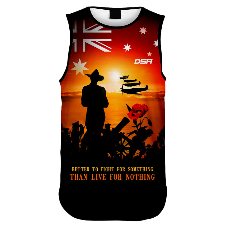 Remember Sunset Singlet