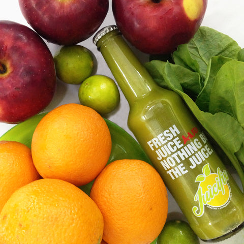 Immunifix - Orange + Apple + Spinach + Lemon.