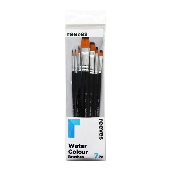 Reeves Water Colour Brush - 7 Set
