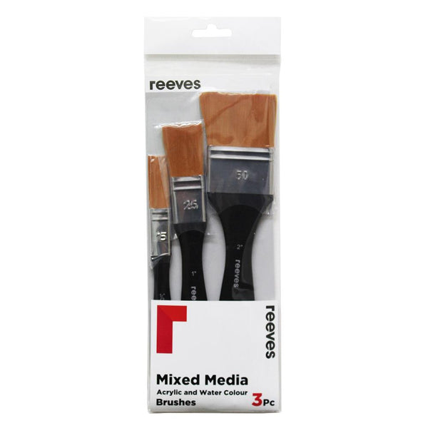 Reeves Mixed Media Brush Set