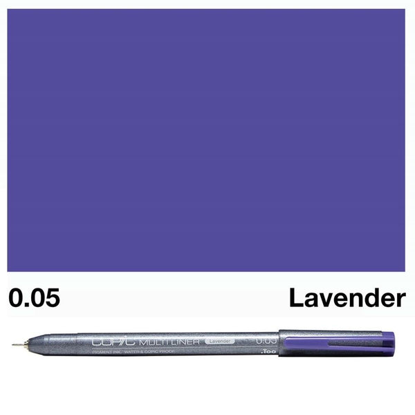 Copic Multiliner - Lavender